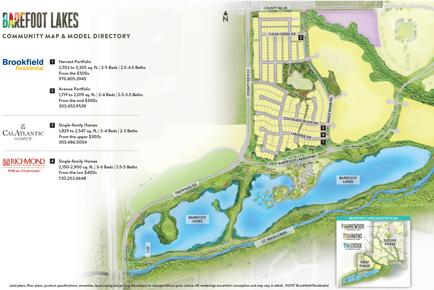 Barefoot Lakes - Waterside Neighborhood